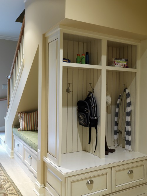 Under stairs hallway furniture - And This Shot Below Is More If A Dedicated Room For This Storage