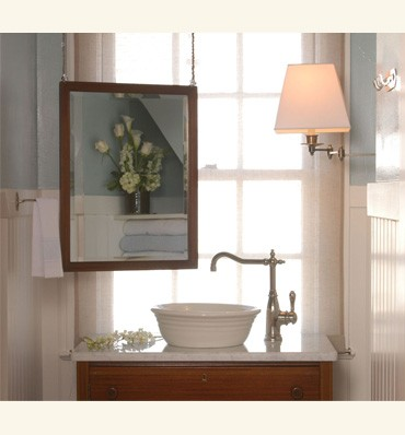 mirror ideas for sinks that look out at the sea silver spray
