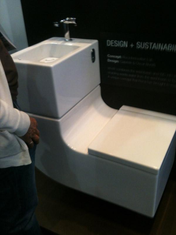 Ecobuild Toilets Waterless Urinal Amp Sensor On Water Tap