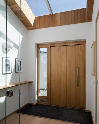 Contemporary Front Doors Uk: Silver Spray