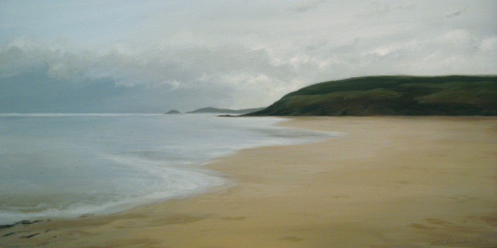 Perranporth (Perran Sands) painting by Caroline Pedler