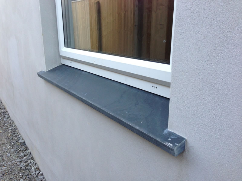 External Window Sill Slate Silver Spray