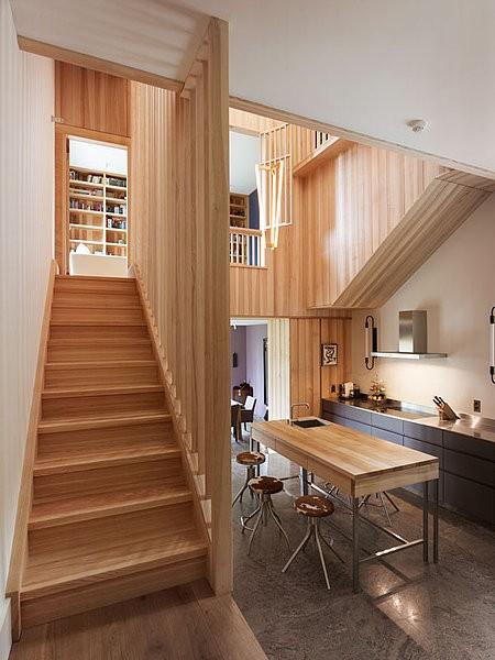 vertical wooden wall 08