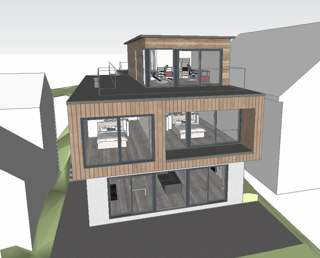 2012-10-25- SketchUp view - external from N _640