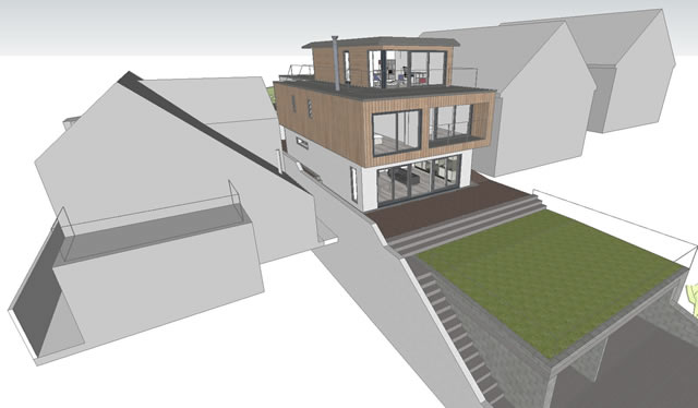 2012-10-31 SketchUp from sky to NE _640