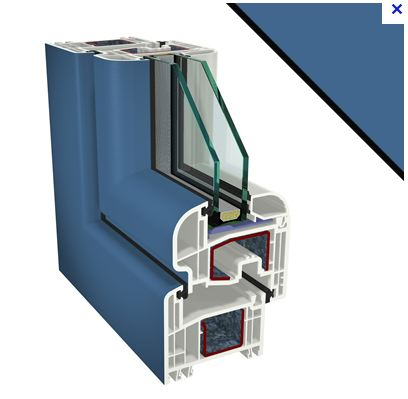 RAL 5007 for glazing frames - 02