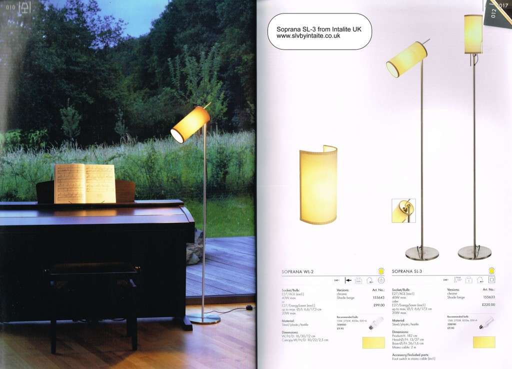 pole lamp - overview