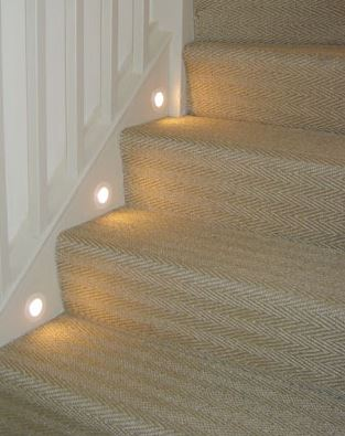 stair feet lights
